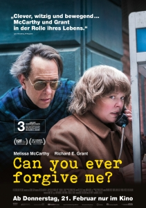 Filmplakat: Can You Ever Forgive Me?